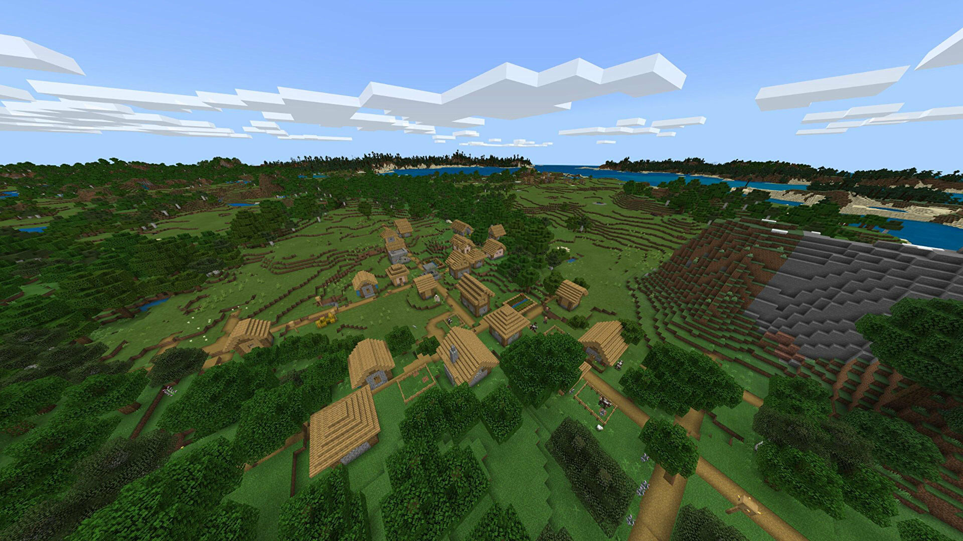 A Minecraft Bedrock screenshot of a new world created with the seed -850418298.