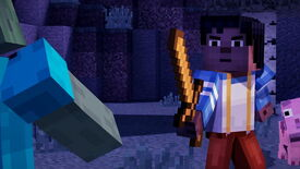 Image for Minecraft: Story Mode Unearths Episode 1 Trailer