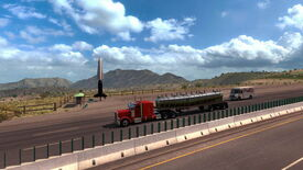 Image for American Truck Simulator honking to New Mexico next