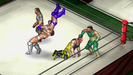 Image for Fire Pro Wrestling World chokeslamming PC this summer