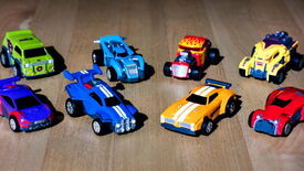 Image for Rocket League launching official pull-back toy cars