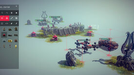 Image for Besiege announces multiplayer and level editor