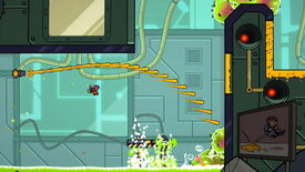 Image for Super Meat Boy meets Portal 2 in Splasher