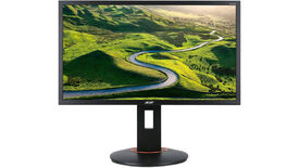 a photo of the acer xf240qs gaming monitor with 24-in span, 165hz refresh rate and FreeSync support