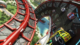 Image for Trackmania Turbo's Upside-Down Roads & One-Car Co-op