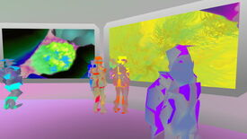Image for Procedural Painting For Aliens In Joy Exhibition