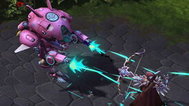 Image for Overwatch's D.Va stomps into Heroes of the Storm