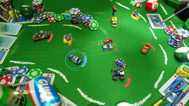 Image for Micro Machines shows off tabletop fight-o-racing