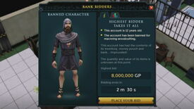 Image for RuneScape Adding Auctions For Banned Players' Stuff