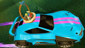 Image for Rocket League gets Dropshot mode and Easter treats