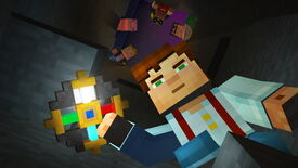 Image for Minecraft: Story Mode episode 1 free on Steam for a bit