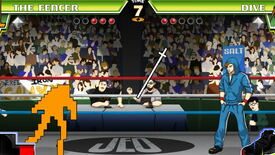 Image for Nidhogg's Fencer Saunters Into Divekick, Sword And All