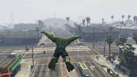 Image for This Grand Theft Auto V Hulk Mod Looks Incredible