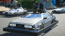 Image for Planet Coaster DLC adds Munsters, BTTF, Knight Rider