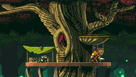 Image for Rivals of Aether wavedashes to a full launch