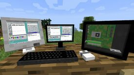 Image for Here are three ways to turn Minecraft into a computer inside your computer