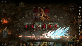 Image for 37 minutes of Thronebreaker: The Witcher Tales in card-slinging action