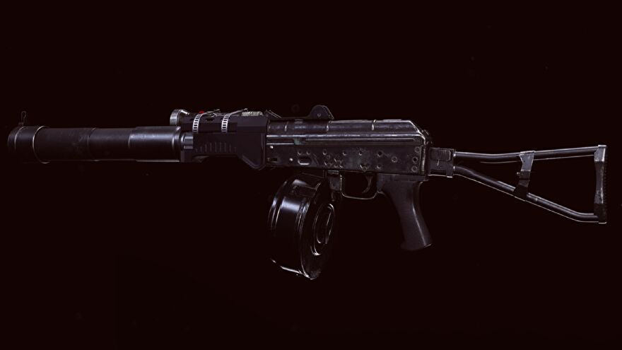 The AK-74u in Call of Duty: Warzone