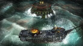 Image for Abandon Ship dons a big pirate patch, adding sea forts, shady outposts and 'wanted' levels