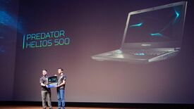 Image for Acer's Predator Helios 500 laptop is so huge it needs two people to lift it
