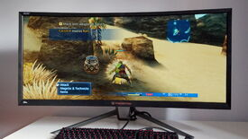A photo of the Acer Predator Z35p gaming monitor