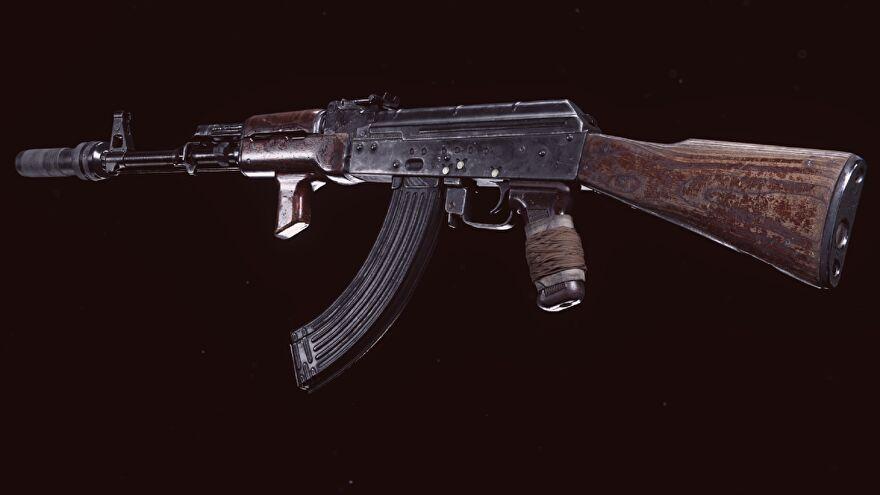 The Cold War AK-47 in Warzone