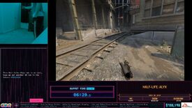 Image for Speedrunner uses VR to crawl under Half-Life: Alyx levels in real life