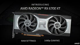 AMD's Radeon RX 6700 XT graphics card