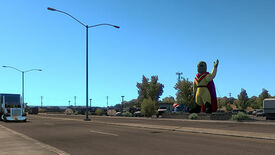 Image for American Truck Sim's New Mexico DLC has hit the road