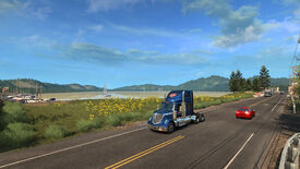Image for American Truck Simulator will encourage sightseeing with Viewpoint cinematics