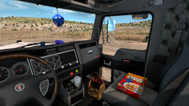 Image for Trash up your American Truck Sim cabin with burgers and coffee cups