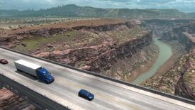 Image for American Truck Simulator shows off New Mexico