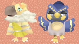 Image for Someone drew the gods from Hades as adorable Animal Crossing villagers