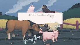 Image for The Animal Farm video game is coming in December