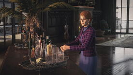 Emma Carlisle tampers with a drink in Hitman 3's Dartmoor level. This is the conclusion to Another Death In The Family.
