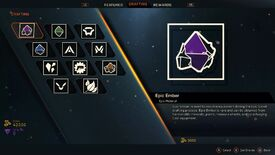 Image for Anthem crafting: how to get embers, upgrading blueprints, inscriptions