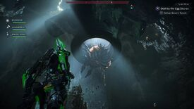 Image for Anthem Tyrant Mine stronghold mission - defeating the Swarm Tyrant