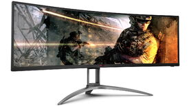 Image for AOC have a new 49in monitor to rival Samsung's CRG9
