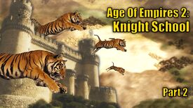 Image for I defeated both tigers and my enemy to win my first ranked Age Of Empires 2 game