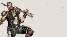 Official art of Fuse, one of the Apex Legends characters.