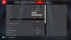 Image for Apex Legends settings guide: reduce lag, increase FPS, display ping, and more