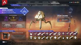 Image for Apex Legends making Iron Crown event loot system less grubby after breaking promise