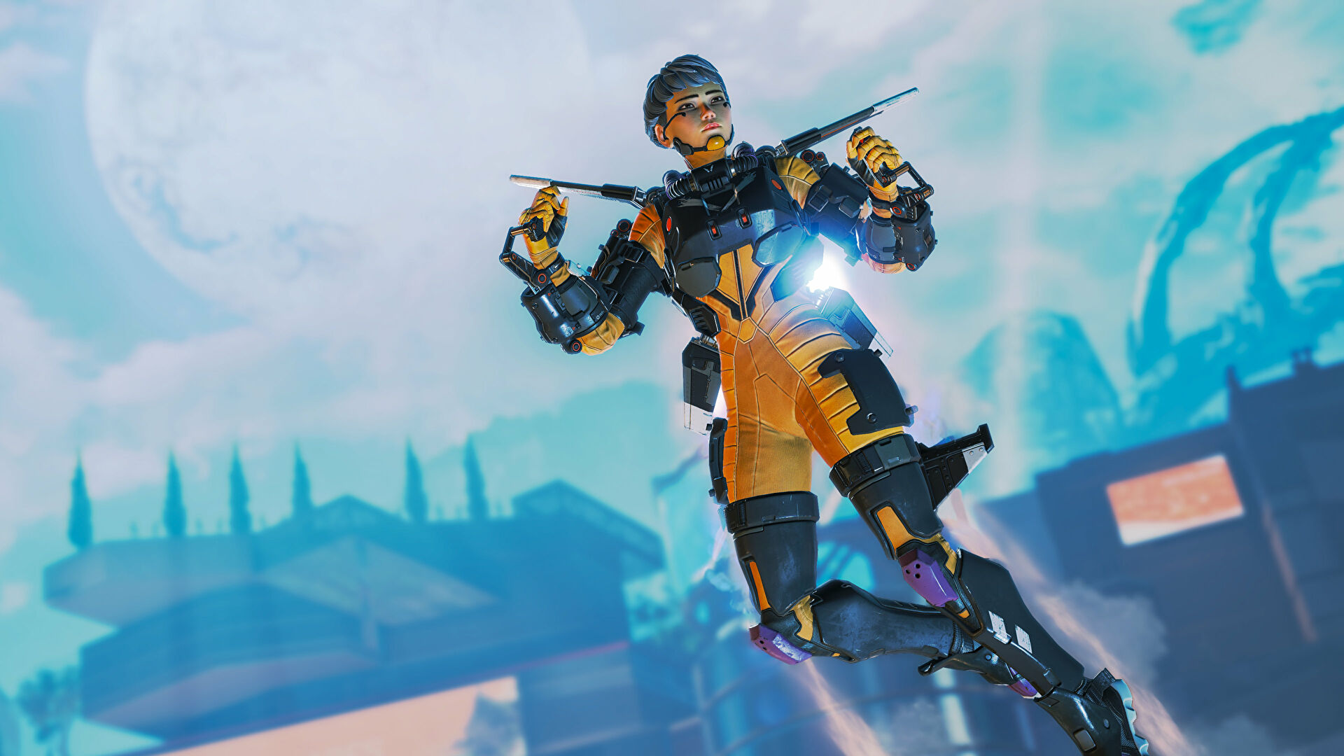 Valkyrie's ultimate is accidentally dragging Apex Legends players under the map
