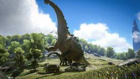 Image for Ark Adds Dino Big Enough To Carry A Fortress, Also Poo Flinging Monkeys