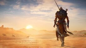Image for Egyptian murder-dad Bayek bends canon in Assassin's Creed Odyssey