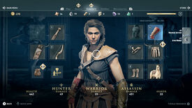 Image for Assassin's Creed Odyssey inventory: how to get the best weapons, legendary armour