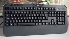 Image for Asus TUF Gaming K5 review: All hail the mech-brane
