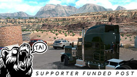 Image for Land of enchantment: an American Truck Sim - New Mexico photo diary
