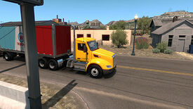 Image for American Truck Simulator New Mexico pursues a real America, not a Hollywood America
