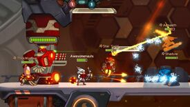 Image for 2D moba Awesomenauts goes free-to-play next month
